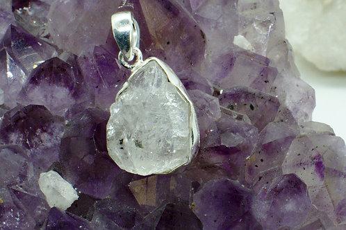Herkimer Diamond Sterling Silver Pendant HDA