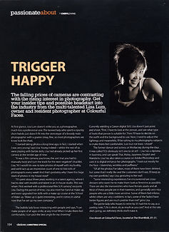 Lisa Lum magazine interview acticle