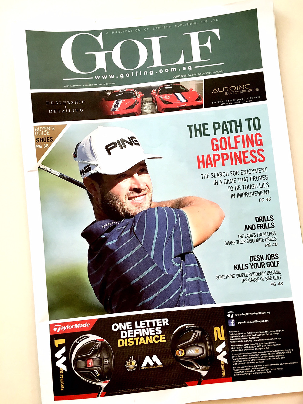 Golf Magazine Photography