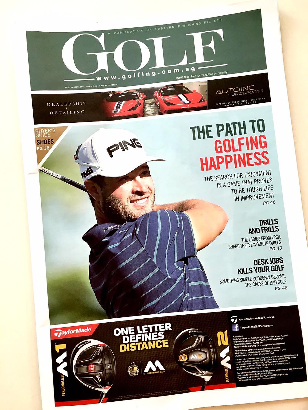 Golf Magazine Photography
