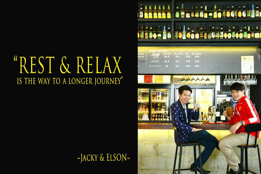 Team Branding Photography editorial of Elson Soh and Jacky Goh