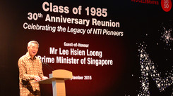 Celebrating SG 50 with Mr Lee Hsien Loong