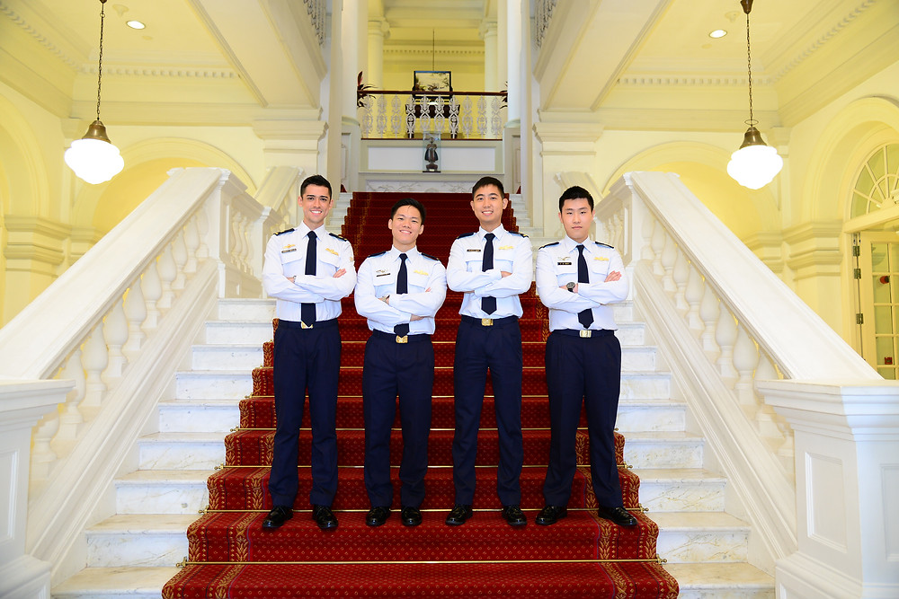 Scholars 2016 waiting to serve The Air force after their studies