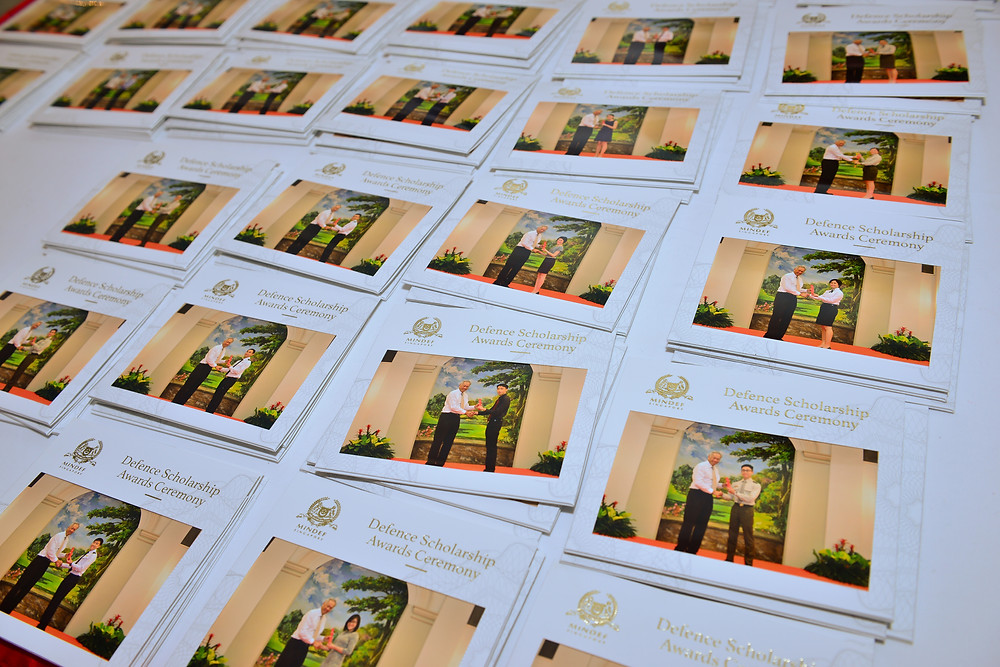 Instant prints for Defence Scholarship Awards Ceremony 2017
