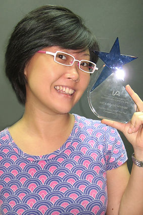 Lisa Lum won the MICA Grant for The New Paper First Film Fest short film competition
