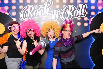 The Colourful Faces Studio photobooth