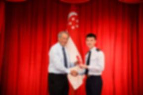 Scholarship award ceremony at Istana