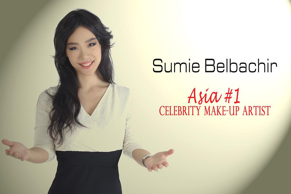 Asia #1 make-up artist Sumie Belbachir