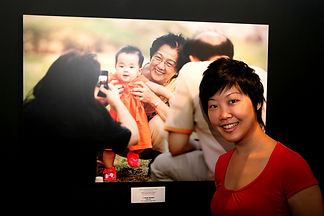 Lisa Lum with winning photo entry