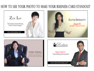 How to Use Your Photo To Make Your Business Card Standout