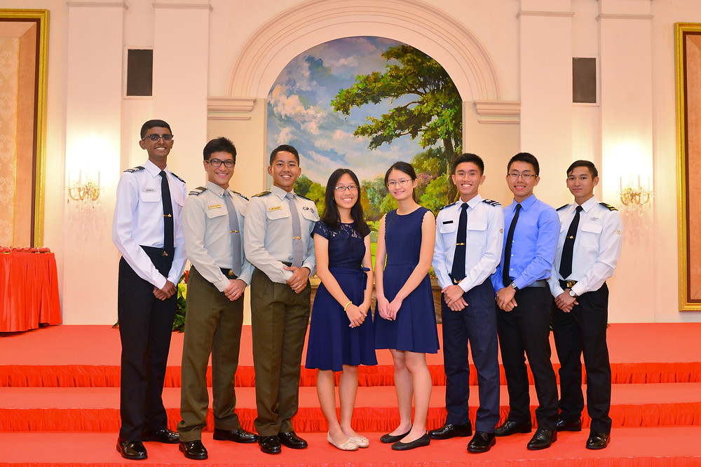 recipients of The Defence Scholarship Awards 2017