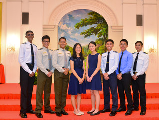 Official photographer for Defence Scholarship Awards Ceremony 2017 held at Istana