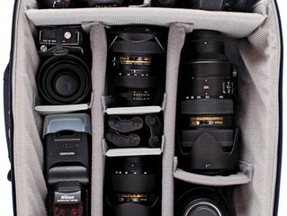 Look what's inside a female photographer's bag