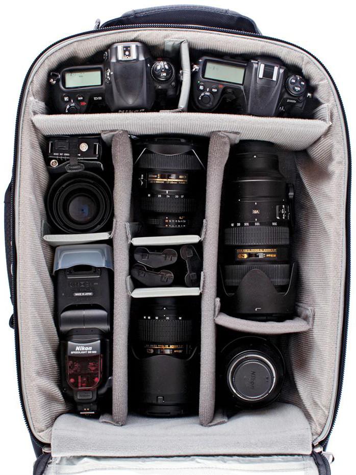 Lisa Lum camera bag and equipments