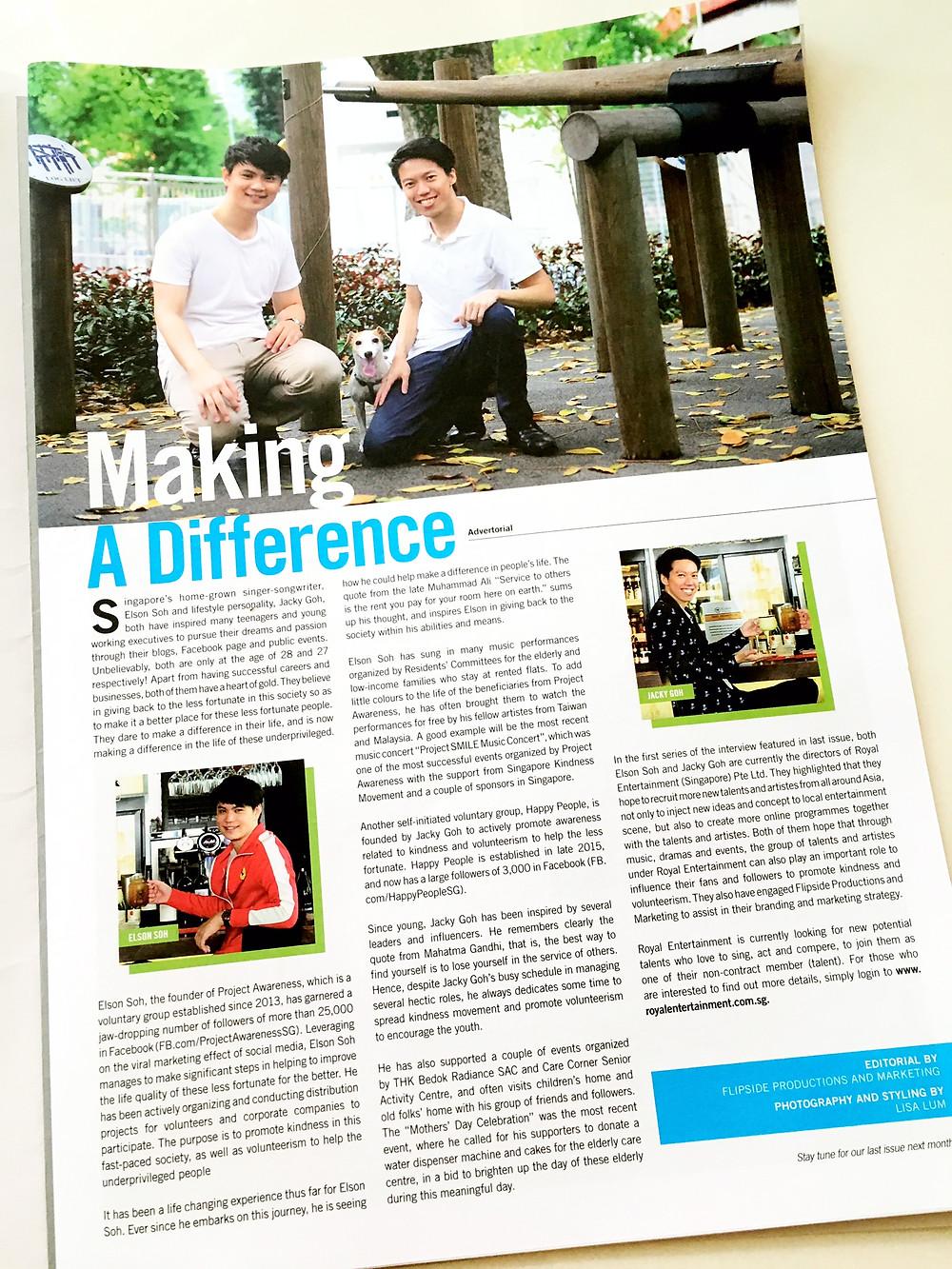Editorial Branding Portraits for Golf Magazine