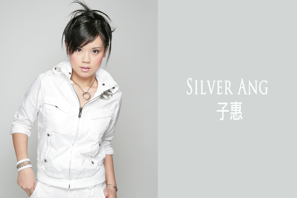Branding photo shoot for Singapore Artist Silver Ang