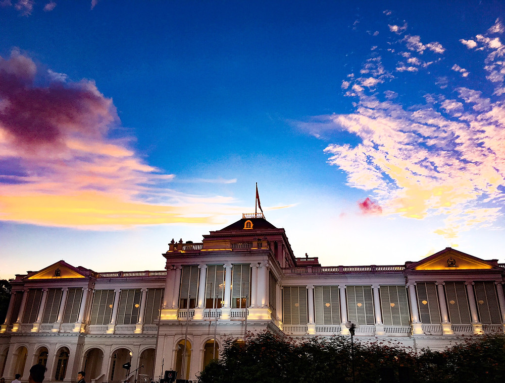 The Istana Presidential House in Singapore