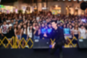 Eric Chou Meet and greet for concert promotion in Singapore bugis junction