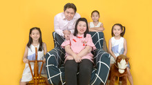 Chinese New Ox Year 2021 Bonding Family Portrait Photo shoot Session