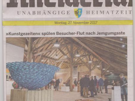 Kunstgezeiten spülen Besucher-Flut nach Jemgumgaste