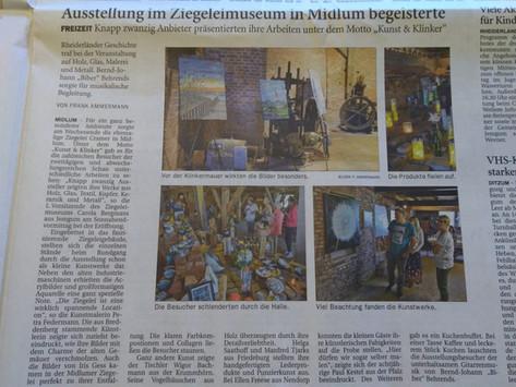 Ausstellung im Ziegeleimuseum in Midlum begeisterte