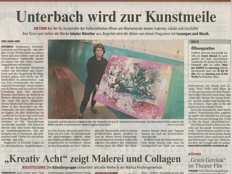 Unterbach wird zur Kunstmeile