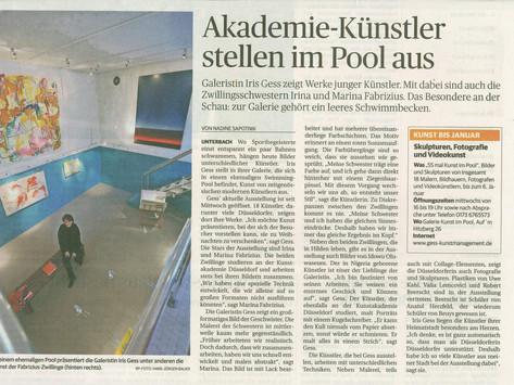Akademie-Künstler stellen im Pool aus