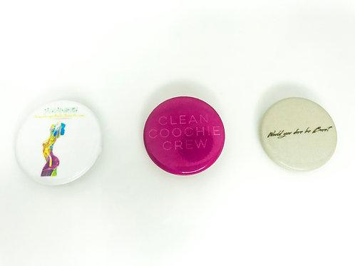 Branded Wardrobe Pins
