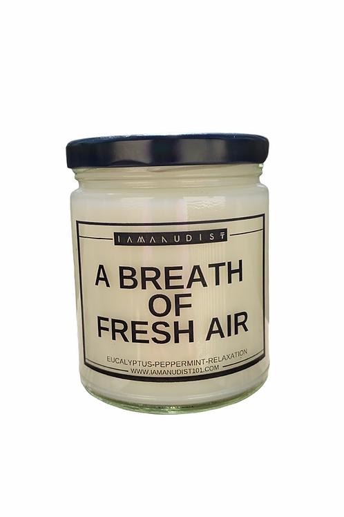 A Breath of Fresh Air Candle