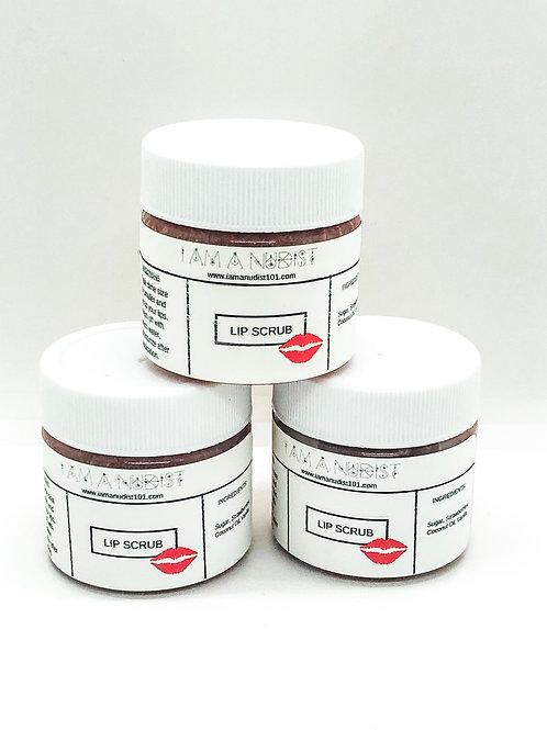Lip Scrub (Strawberry/Vanilla)