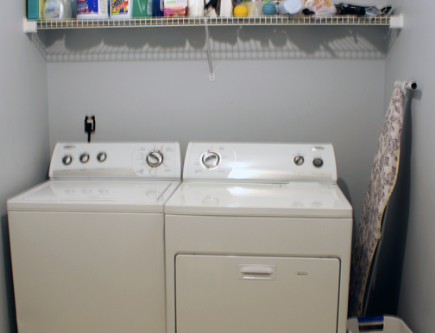 If you don't do laundry, you shouldn't design a laundry room!