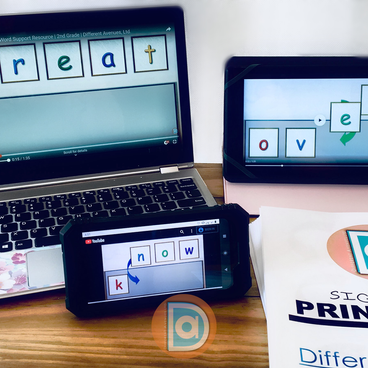 Multimodal Sight Word Teaching Pack with Videos and Bundles