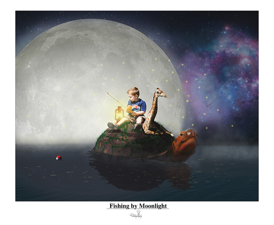 Fishing by Moonlight