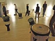 Le cercle de percussions Jokaria