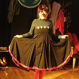 Nathalie, intervenante clown du collectif Jokaria