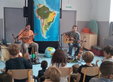 """Spectacle """"Carnet de voyage musical en Amérique latine"""""""