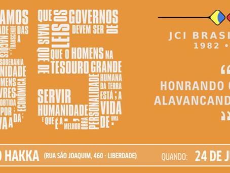 Festa dos 35 anos da JCI Brasil Japão