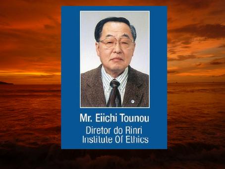 Palestra Internacional com Eiichi Tounou: Diretor do Rinri Institute of Ethics of Japan.