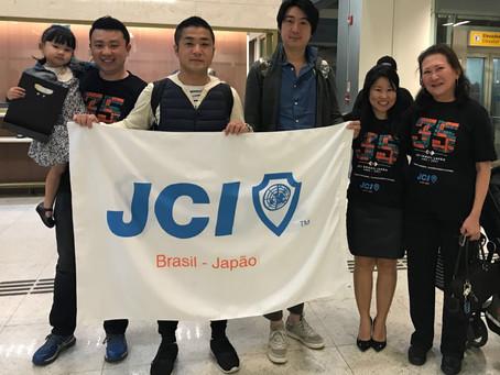 JCI Fukuoka visita o Brasil