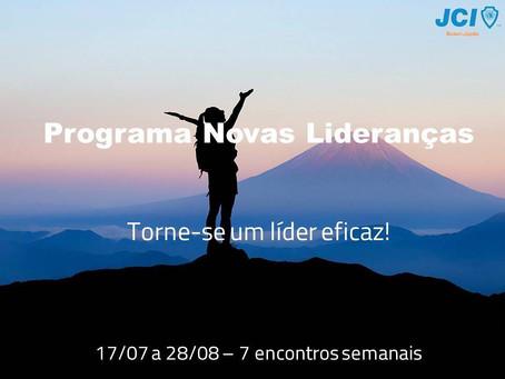 Programa Novas Lideranças 02/2018