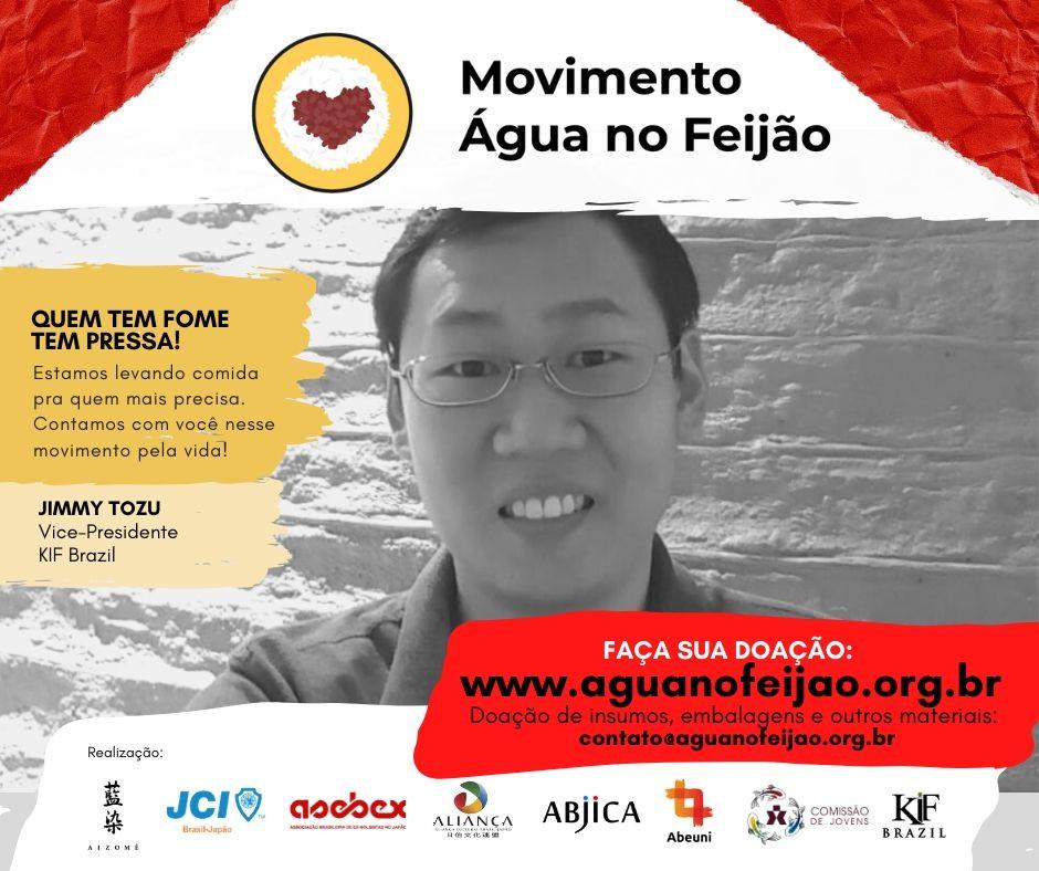 Movimento Água no Feijão - Jimmy Tozu