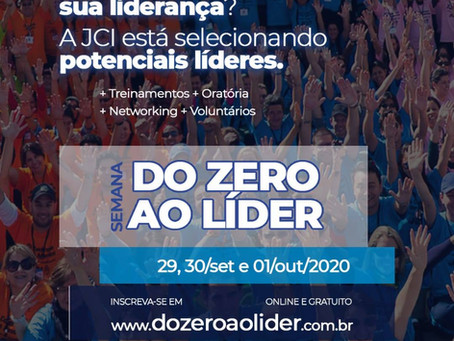 "MANF é destaque na Semana ""Do Zero ao Líder"" da JCI Brasil"