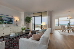 Memorial High Rise Living Room