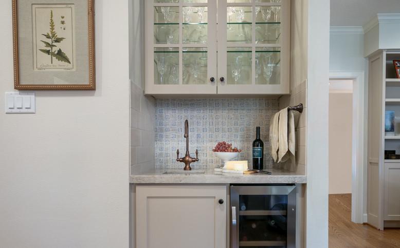 Bellaire Kitchen Remodel - Wine Bar