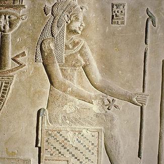 Relief-Cleopatra-goddess-Temple-Dandarah