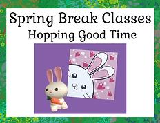 Spring Break Classes - Hopping Good Time
