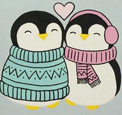 12x12_097_ Penguin love.png