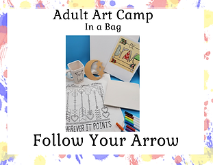 Adult Art Camp in A Bag -Follow Your Arr