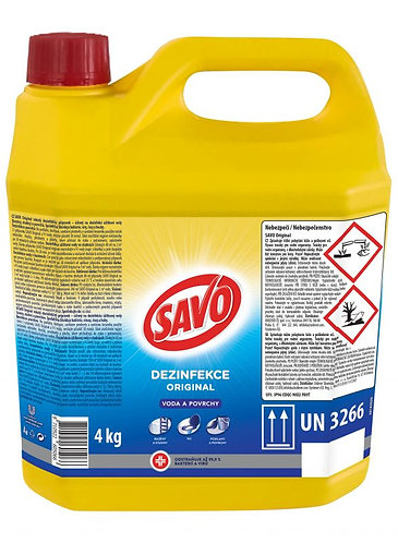 SAVO dezinfekce original 4kg