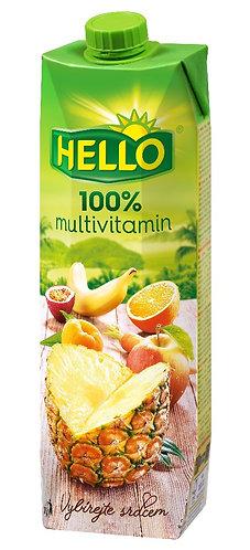 Hello 100% multivitamín 1l